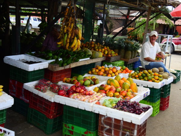 fruit stand in Parrita