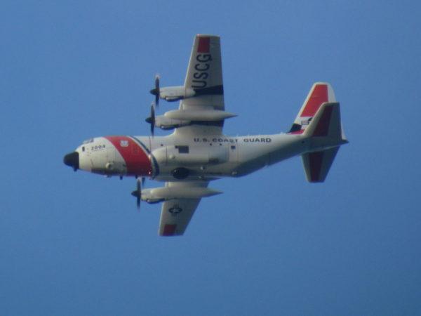 Coast Guard Plane Costa Rica