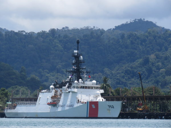 U.S. coast guard Golfito Costa Rica