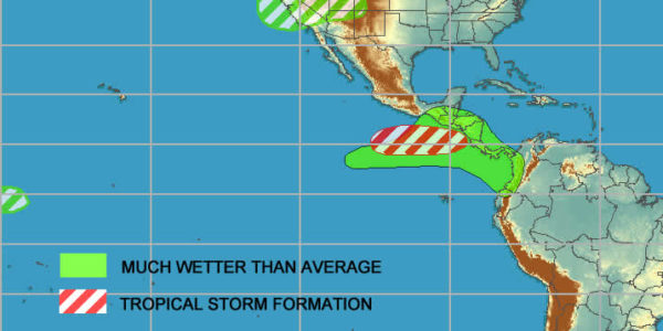 NOAA tropical weather prediction