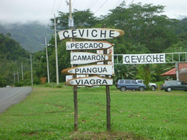 Ceviche de Viagra