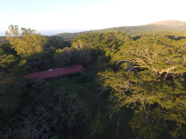landscape at Rincon de la Vieja