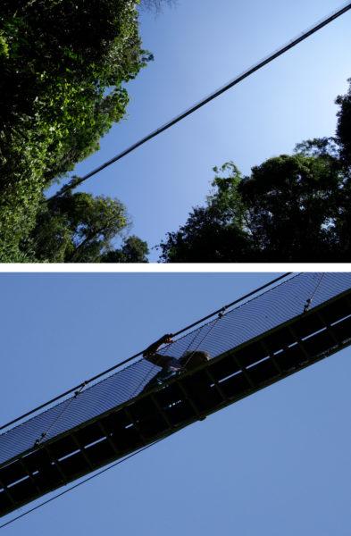 Super suspension bridge