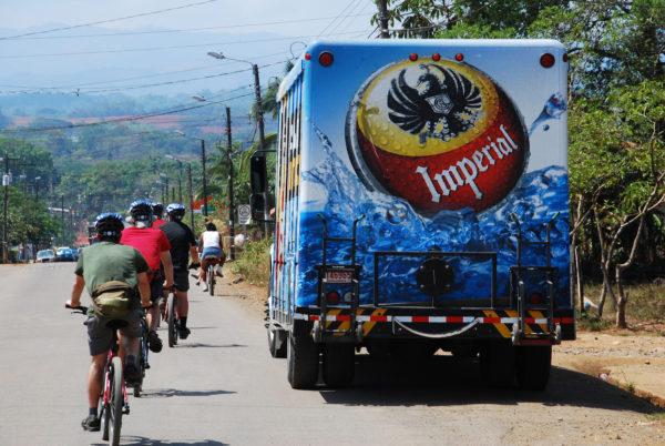 mountain biking support vehicle