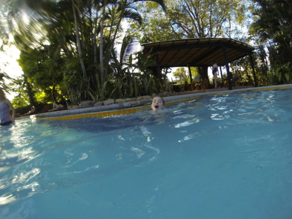 Hacienda Guachipelín Lodge pool