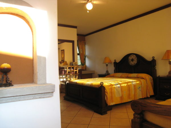 Superior room at Hacienda Guachipelín