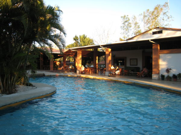 Hacienda Guachipelín swimming pool