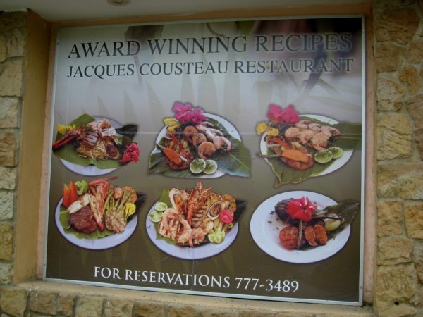 Cousteau Seafood platter