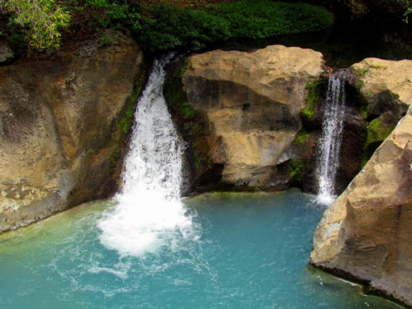 Celeste isn't the only turquoise waterfall in Costa Rica.