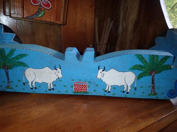 Bueys - oxen, Costa Rica folk art