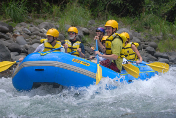 Pacuare river rapid