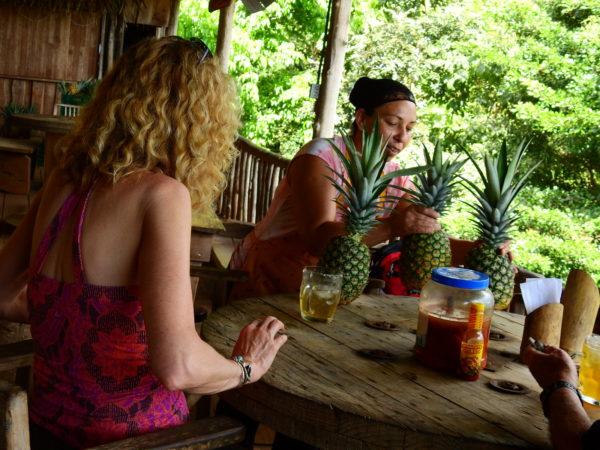 Women's COOP organic pineapple