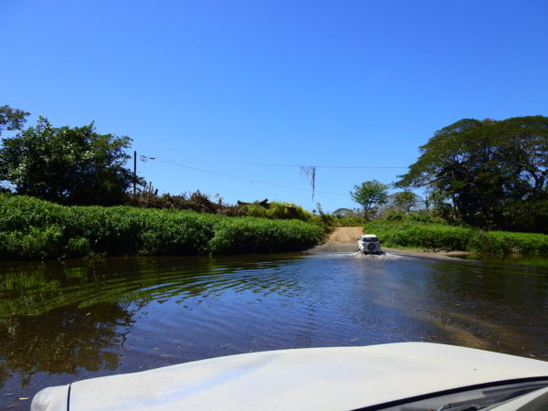 many cross rivers in rental cars anyway