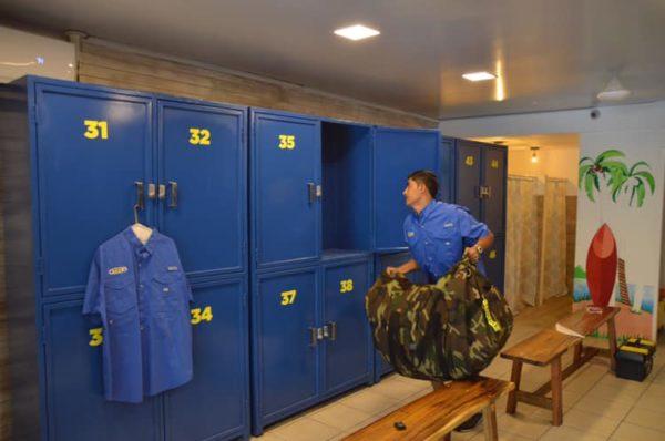 beach storage locker