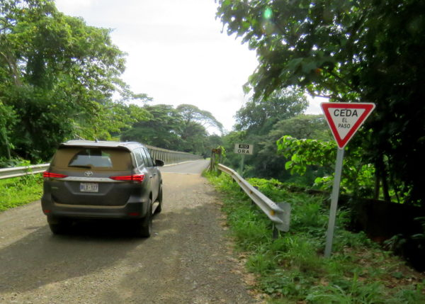 One Lane Bridge CEDA EL PASSO