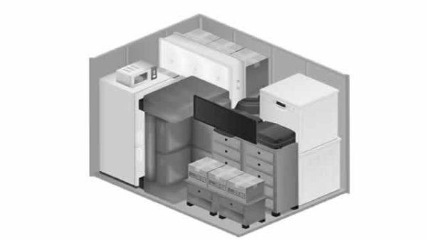 6 square meter storage unit